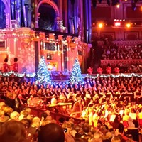 London Weekend & Carols at the Albert Hall
