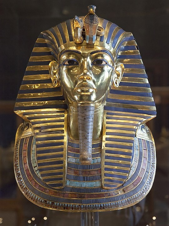 London Tutankhamun Treasures of the Golden Pharaoh